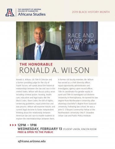 Honorable Ron Wilson
